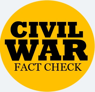 Civil War Fact Check
